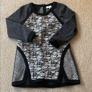 Multi-textural tunic